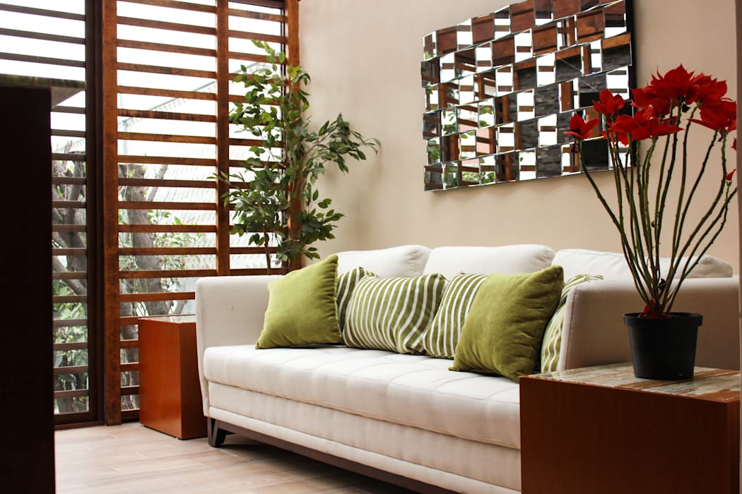 Últimos trabajos Ruang Keluarga Modern Oleh Spazio3Design Modern