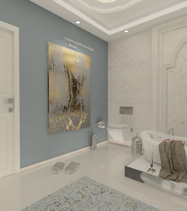 homify Modern style bathrooms Wood White