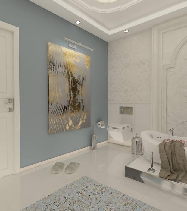 Ванные комнаты в . Автор – Altuncu İç Mimari Dekorasyon, Модерн Дерево Эффект древесины