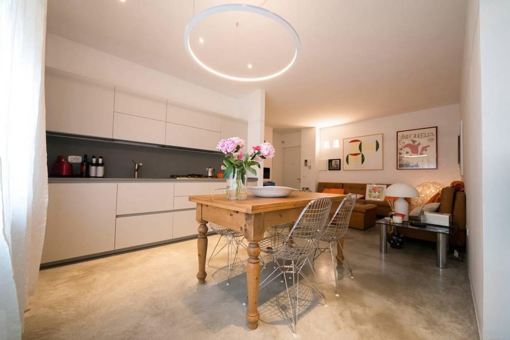 PADIGLIONE B Modern kitchen Slate Grey