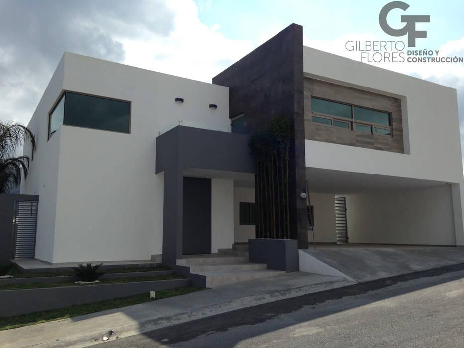 Fachada Ppal. Casas estilo moderno: ideas, arquitectura e imágenes de GF ARQUITECTOS Moderno