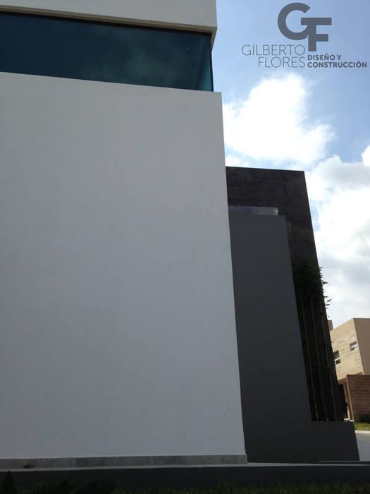 Detalle Terraza Balcones y terrazas modernos de GF ARQUITECTOS Moderno