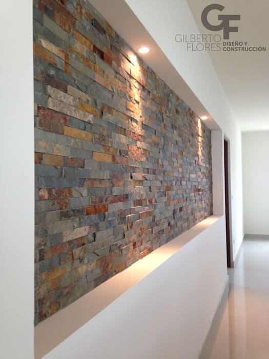 Modern Walls and Floors by GF ARQUITECTOS Modern