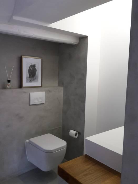 Beton cire bad: badezimmer von robert mergl | homify