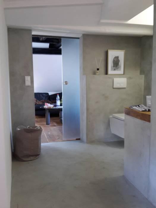 Beton cire bad moderne badezimmer von robert mergl modern ...