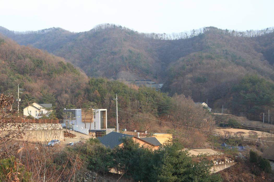 양평 M 하우스 SG international 미니멀리스트 주택