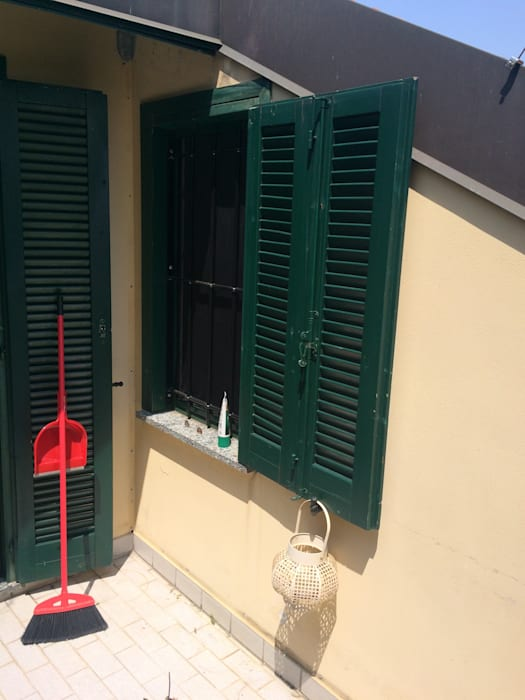 urban oasis Severine Piller Design LLC Balcon, Veranda & Terrasse originaux
