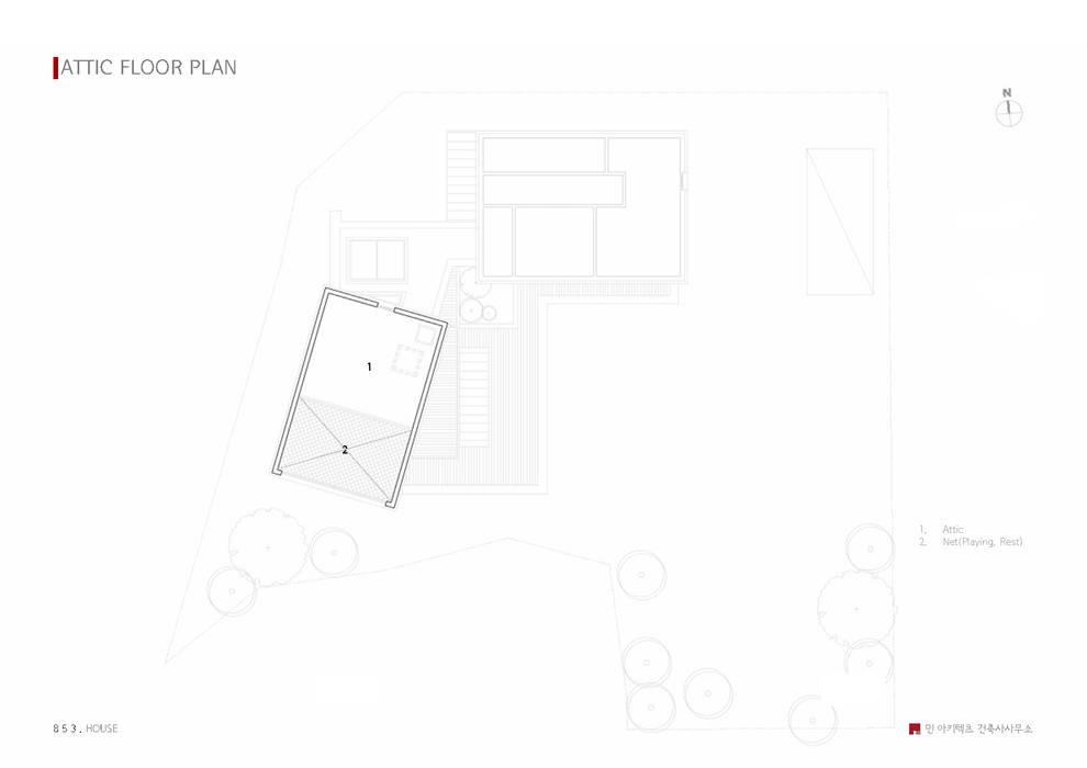tối giản  theo 민 아키텍츠 건축사사무소, Tối giản