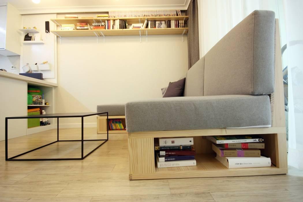 Living room by homelatte, Minimalist