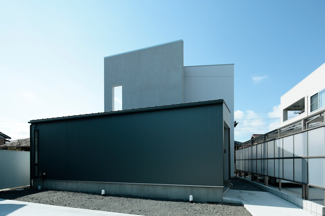 AtelierorB Modern Houses Grey