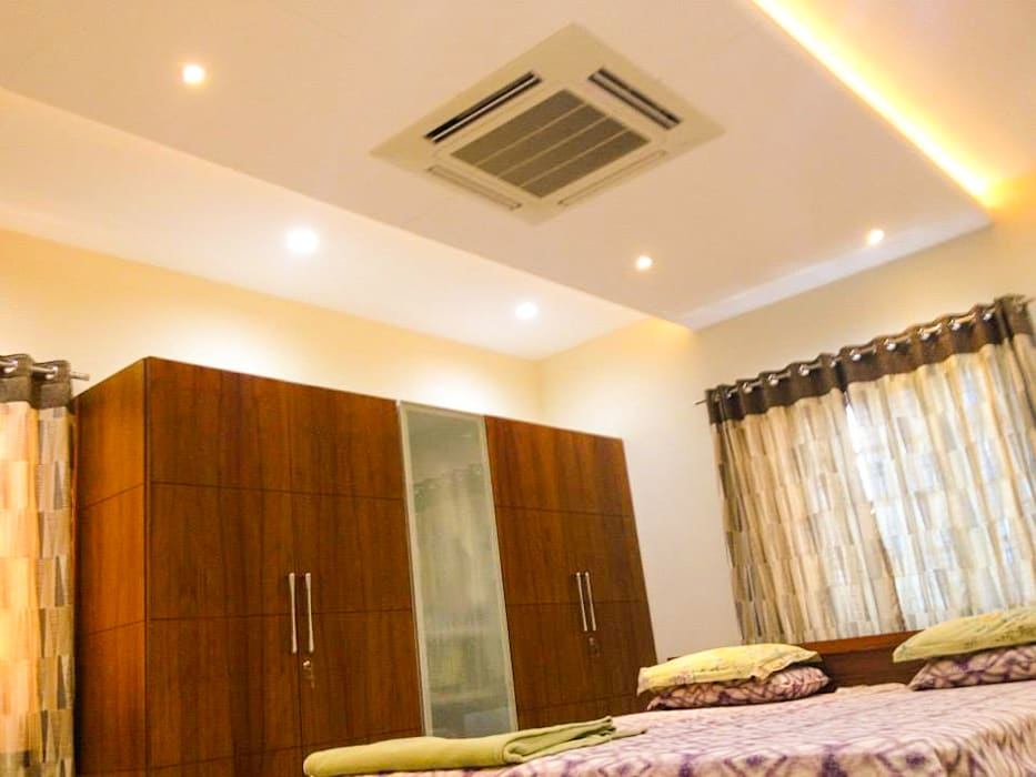 Interior Architecture Urban Shaastra Modern style bedroom