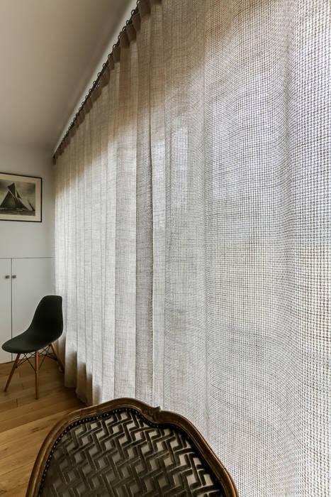 Rideaux pour baie vitrée élégante: salle à manger de style de style ...