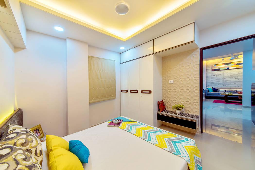 Saar Interior Design Cuartos de estilo ecléctico Multicolor
