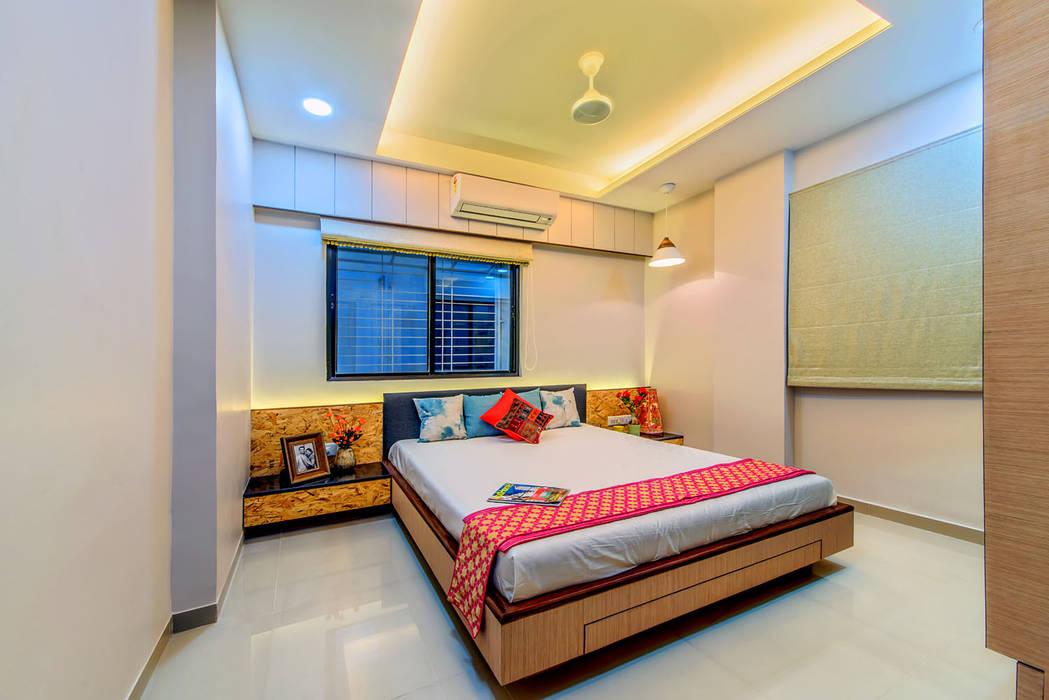 Kamar Tidur oleh Saar Interior Design, Eklektik
