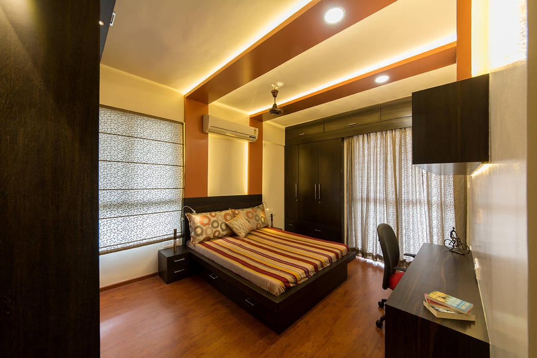 Master Bedroom Modern style bedroom by Navmiti Designs Modern