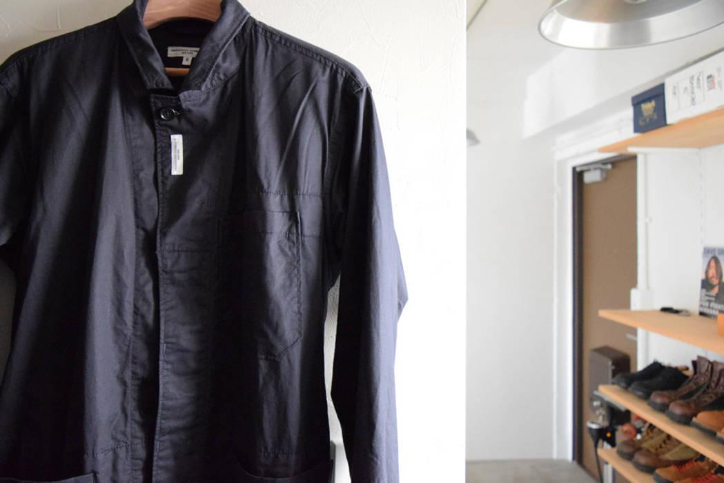 otokonoshiro Minimalist dressing room by nuリノベーション Minimalist