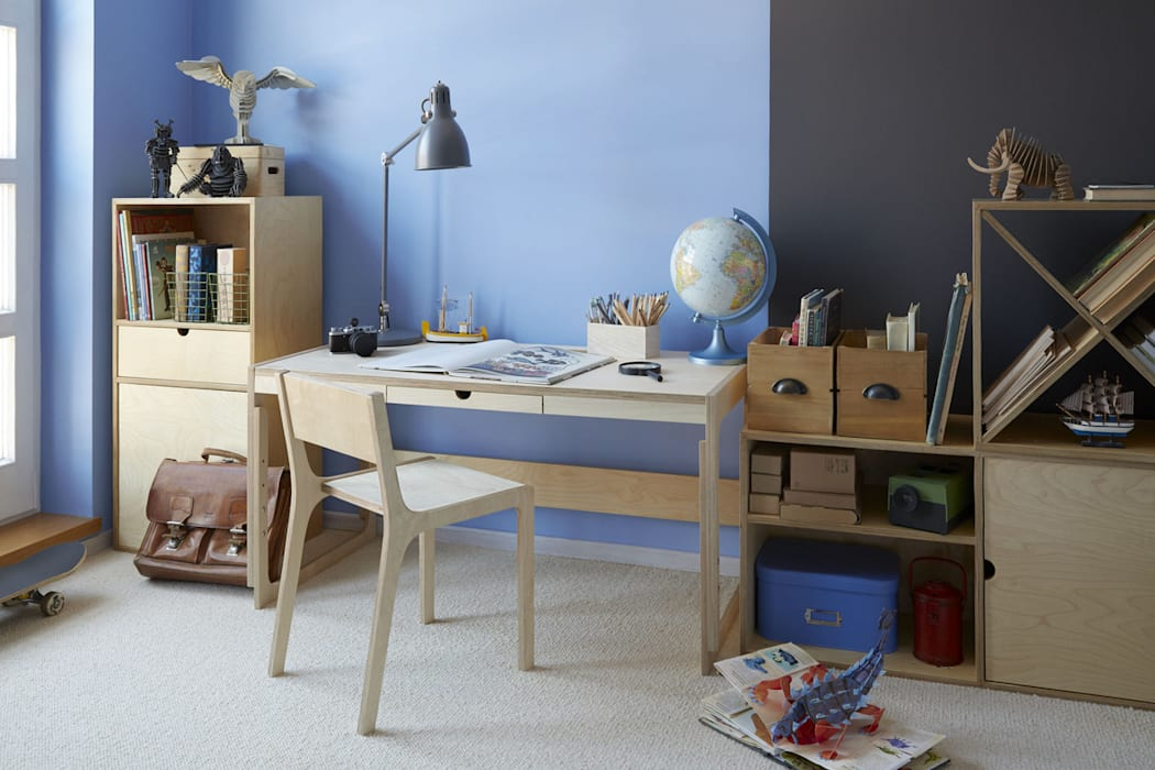ห้องนอนเด็ก โดย FAM FARA, สแกนดิเนเวียน แผ่นไม้อัด Plywood