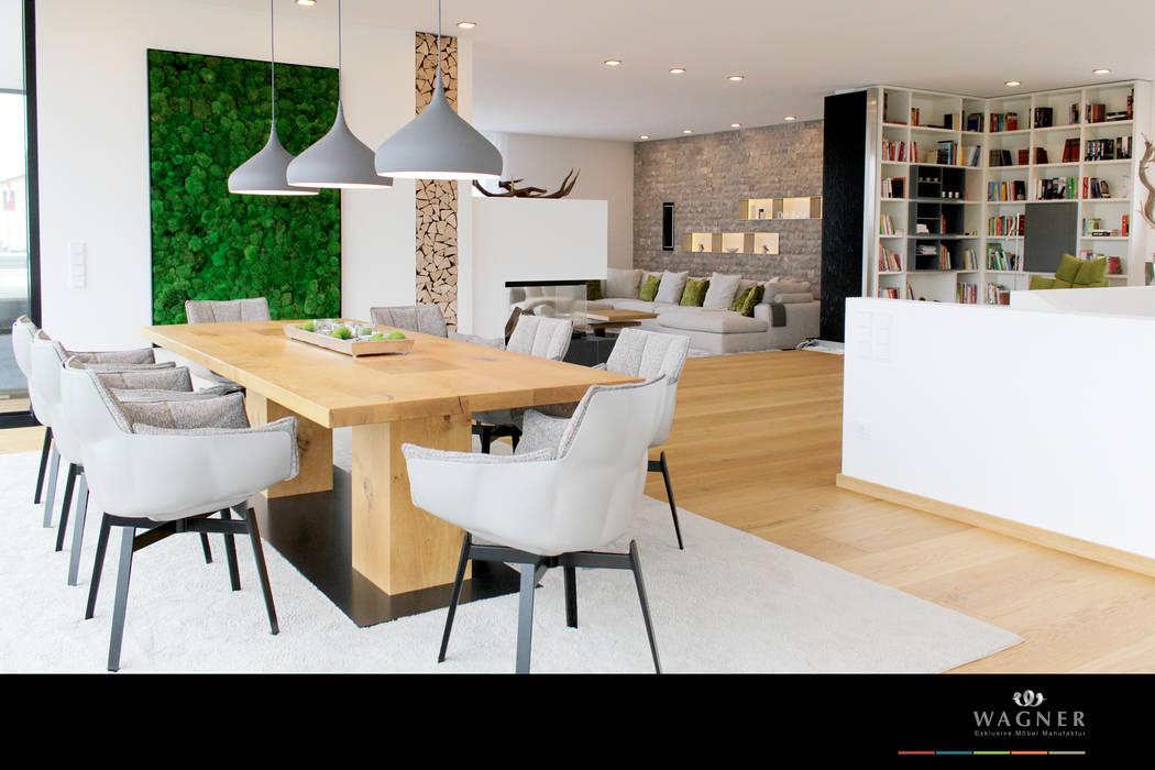 Möbelmanufaktur Wagner eclectic dining roomwagner möbel manufaktur | homify