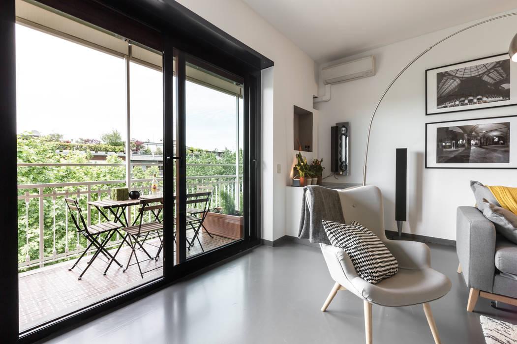Salon de style  par Architrek, Moderne