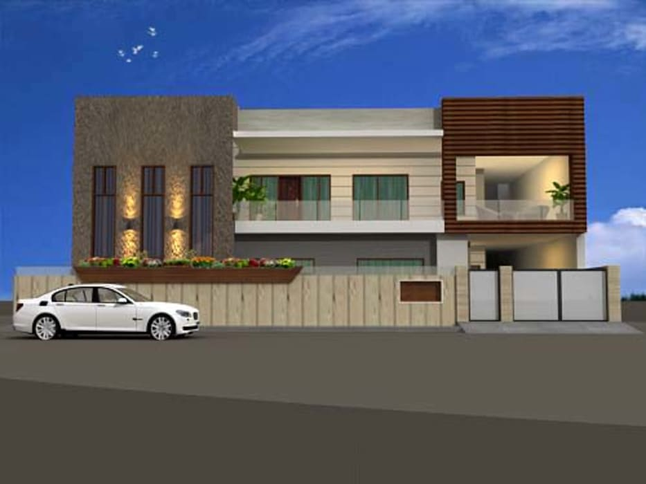Country style house by aakarconstructions Country
