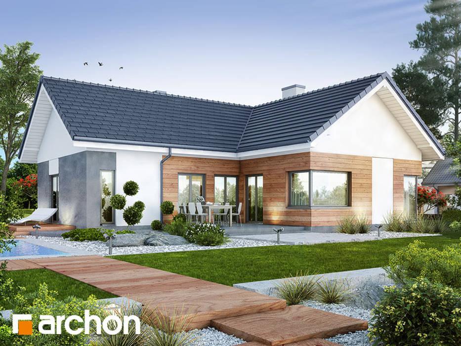 Projekt: Dom w galach (G) od ARCHON+ PROJEKTY DOMÓW