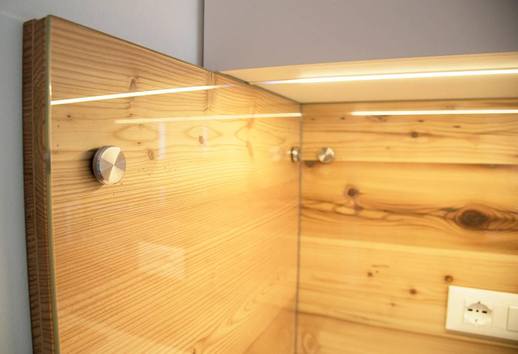 RI-NOVO ห้องครัวไฟห้องครัว ไม้