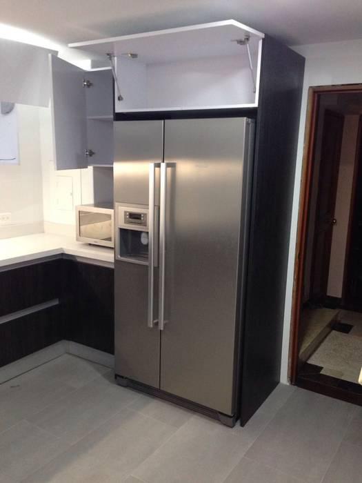 Andina de Modulares ห้องครัวที่เก็บของ