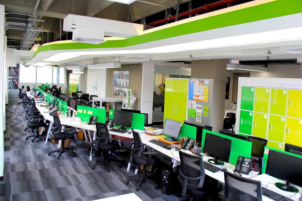 Oficinas AIA de Heritage Design Group Moderno