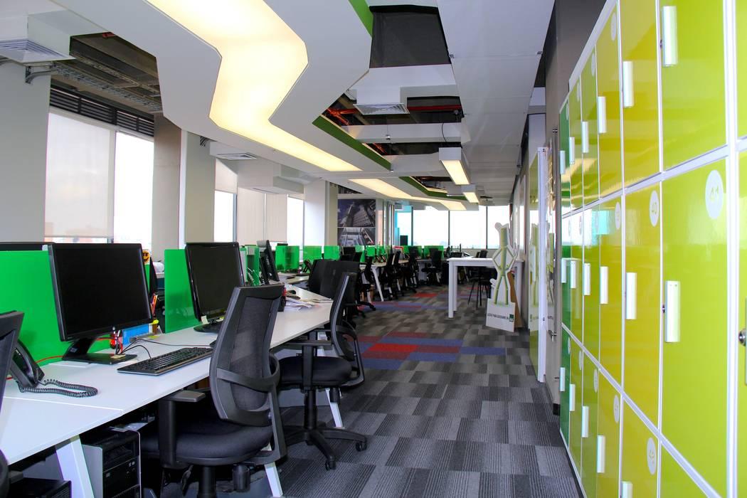 Oficinas AIA: Oficinas y Tiendas de estilo  por Heritage Design Group,