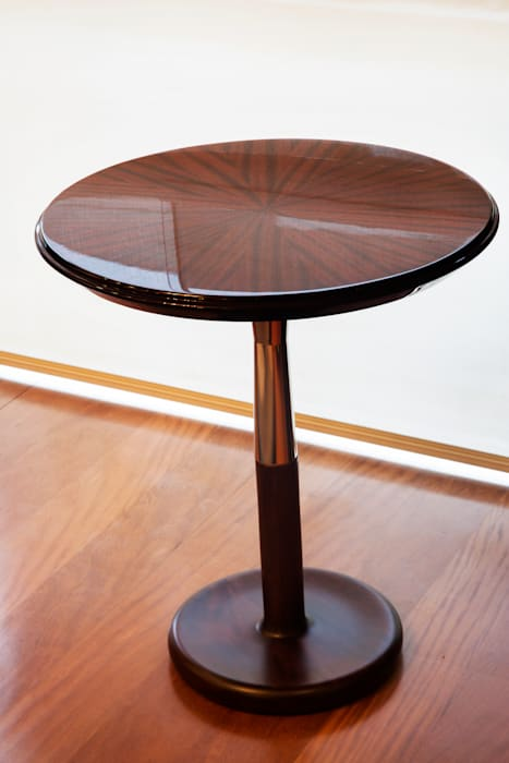 Detalle de mobilario: Salas / recibidores de estilo  por Carughi Studio