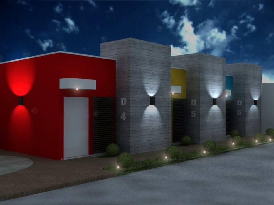 Maisons modernes par ARQ. GONZBAR Moderne Béton