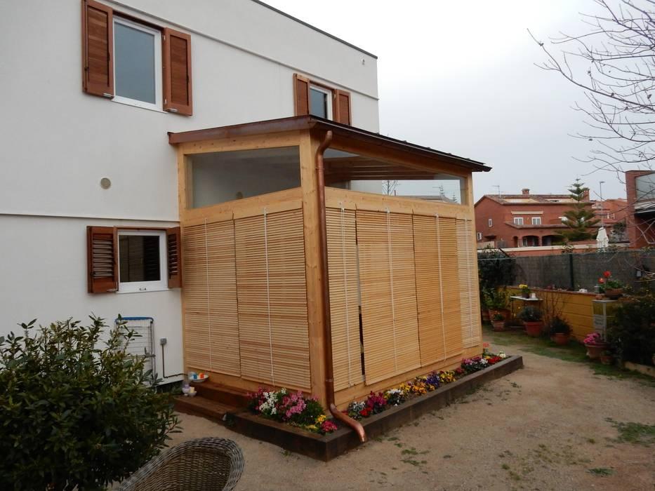 Rumah oleh Lignea Construcció Sostenible, Modern