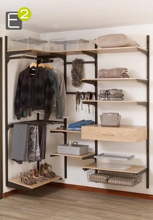 Vestier / Closet Espacio al Cuadrado Vestidores de estilo moderno
