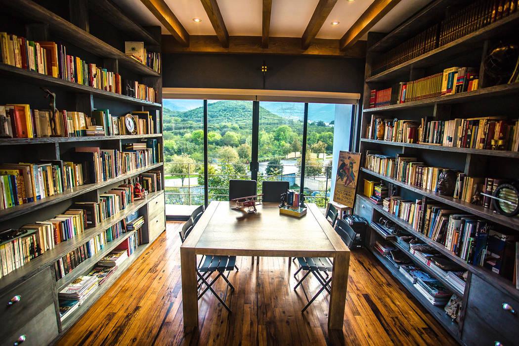 Escritórios modernos por ICAZBALCETA Arquitectura y Diseño Moderno
