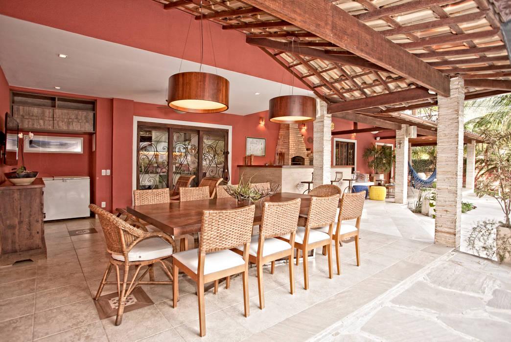 Terrasse de style  par Andréa Spelzon Interiores