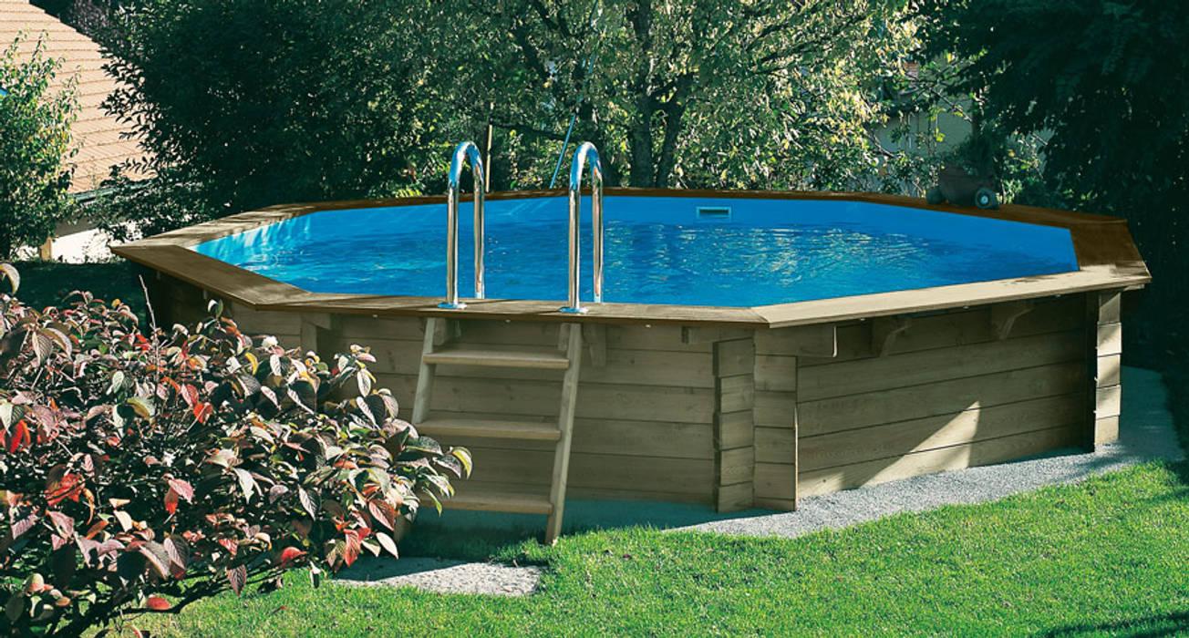Holzpool NOSY BE Ø 5,11 x 1,20 m:  Pool von OOGarden