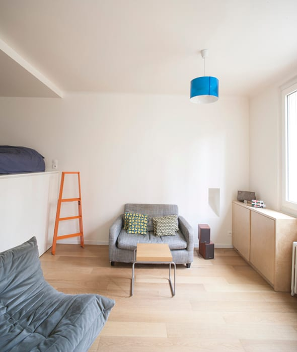 Salon: Salon de style de style Moderne par Olivier Olindo Architecte