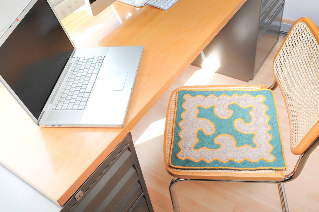 shyrdakjurte Modern study/office Green