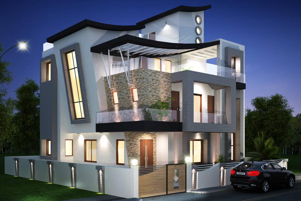 Rumah Modern Oleh Square 9 Designs Modern