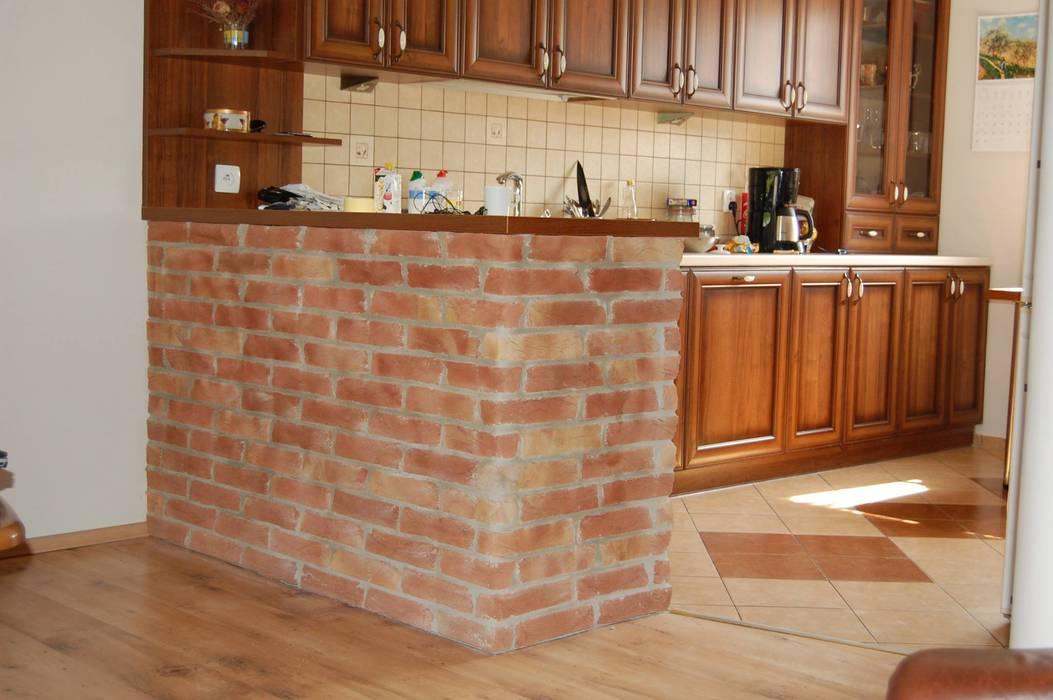 Rustikale Küchen von ITA Poland s.c. Rustikal Ziegel