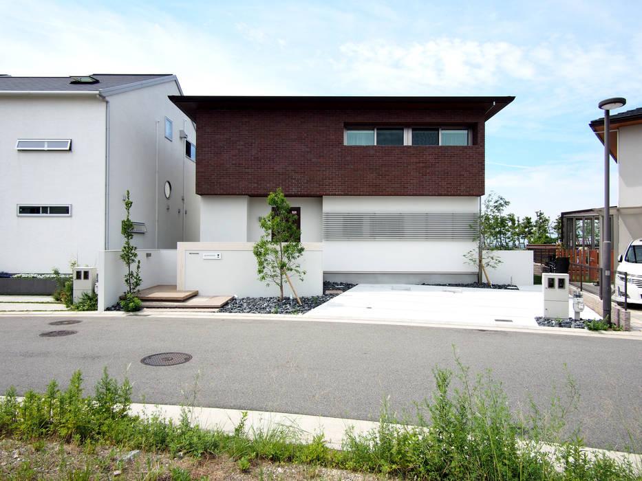 Modern houses by SQOOL一級建築士事務所 Modern