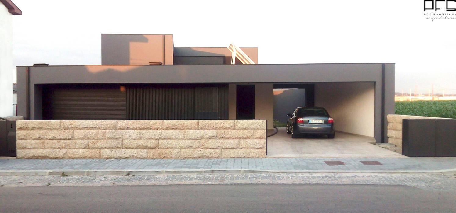 CASA CM_PÓVOA DE VARZIM_2015 Casas minimalistas por PFS-arquitectura Minimalista