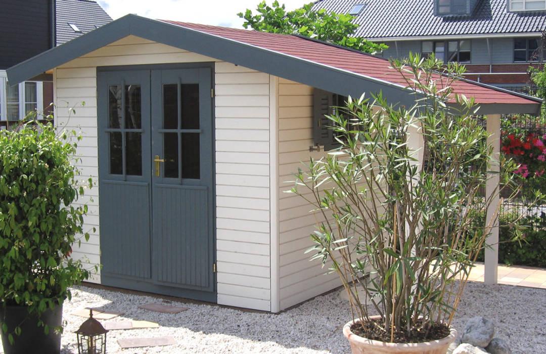 Garage/shed by Garden Affairs Ltd, Modern Wood Wood effect