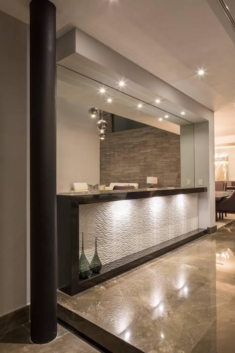 Стены и пол в стиле модерн от URBN Модерн