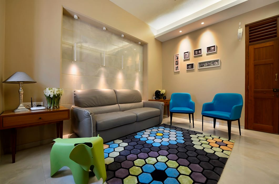 Living room by homify, Modern Tiles