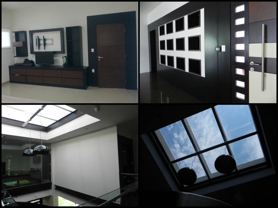 PRO-39 Salones minimalistas de APF arquitectos Minimalista