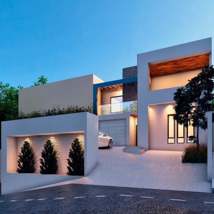 modern  by Laboratorio Mexicano de Arquitectura, Modern