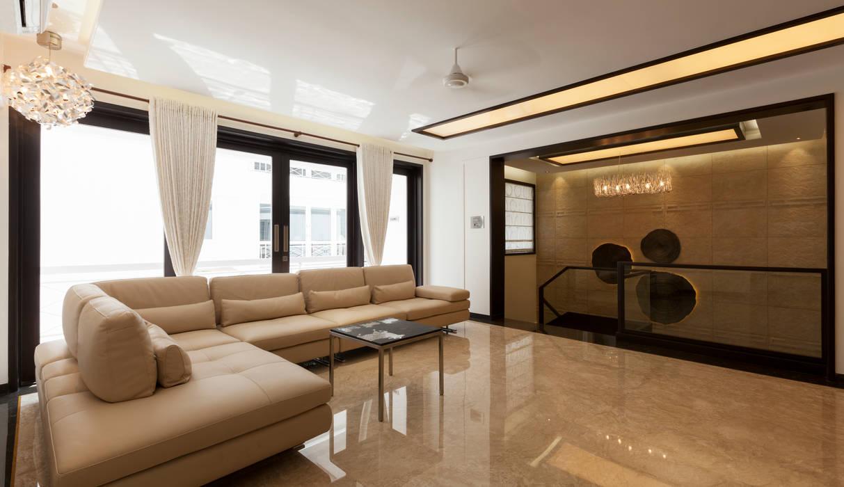 Cubism Modern Living Room