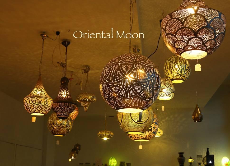 Orientalische hängelampen: wohnzimmer von oriental moon | homify