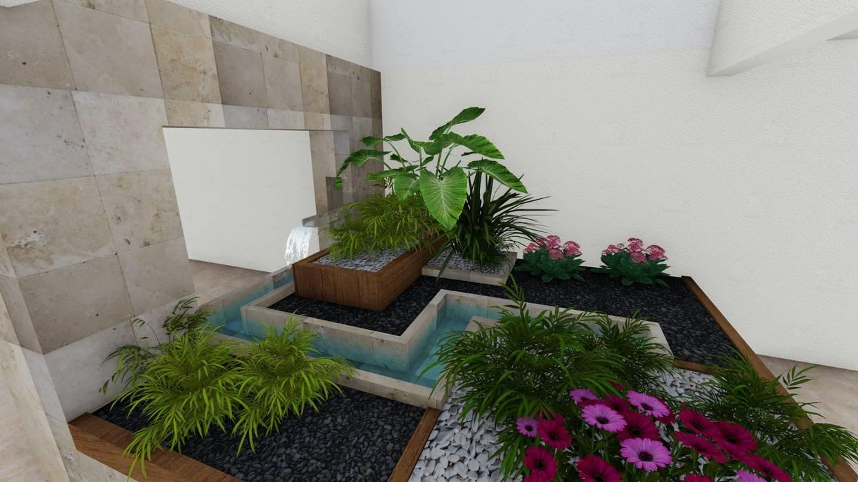Jardines de estilo  por A-labastrum   arquitectos, Minimalista